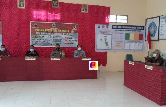 PPKM Mikro Desa Gumulan Menjadi Progran Penanggulangan Covid 19 Tingkat Desa