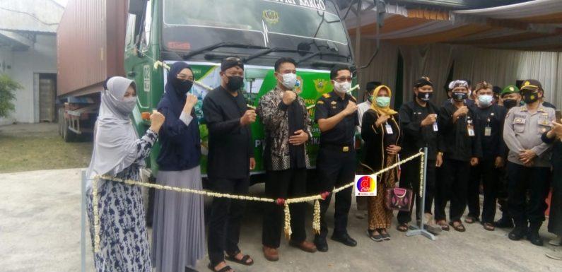 Dimasa Pandemi Covid – 19 PT indo Tropikal Mengekspor 7 Kontainer Permen Jahe Ke Amerika