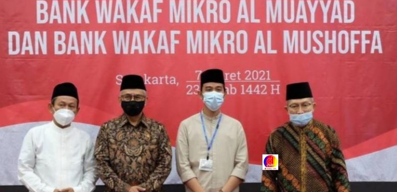 Walikota Surakarta Hadiri Peresmian LKMS Bank Wakaf Al Muayyad dan Al Mushoffa