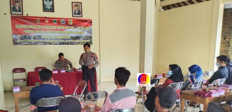 Polres Wonogiri Turut Berikan Penyuluhan Dalam TMMD Reguler Ke-110 Desa Brenggolo