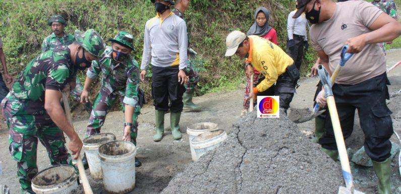 Kegiatan TMMD Mampu Tingkatkan Sinergitas TNI-Polri