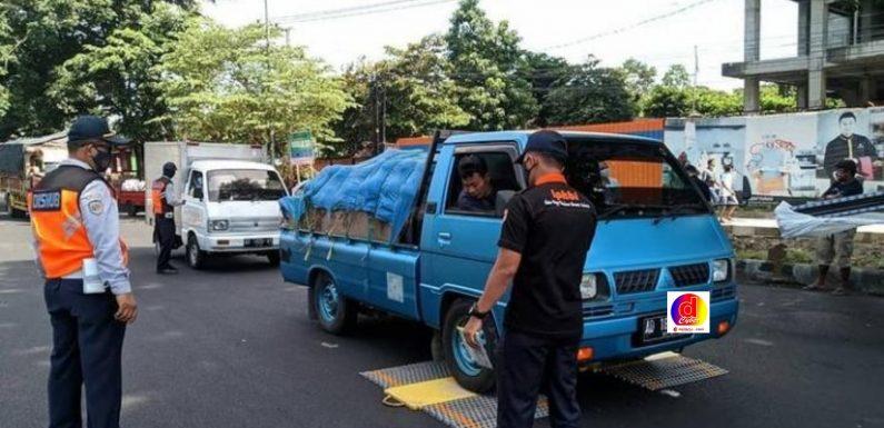 Dishub Kota Surakarta Adakan Operasi Gakkum Gabungan, 27 Angkutan Barang Terjaring