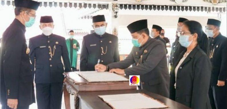 Bupati Magetan Lantik dan Kukuhkan Pejabat Pimpinan Tinggi Pratama, Administrator, Pengawas dan Kepala Sekolah