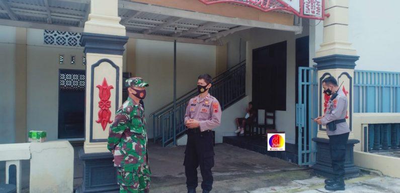 Sinergi TNI-Polri Kecamatan Ngadirojo Amankan Kegiatan Paskah