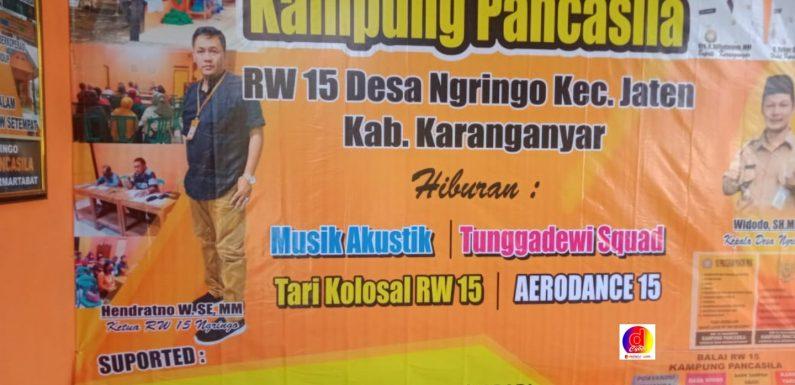 Kali Pertama di Kabupaten Karanganyar Desa Ngringo,  Ikrarkan Kampung Pancasila