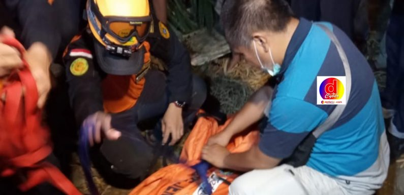 Sungai Samin Banjir Telan Korban 1 Orang Meninggal