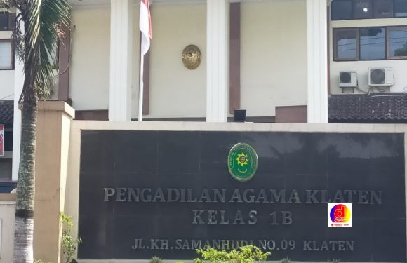 Tingginya Angka Perceraian Di Kabupaten Klaten Di Sebabkan Faktor Ekonomi Dan Pihak Ketiga