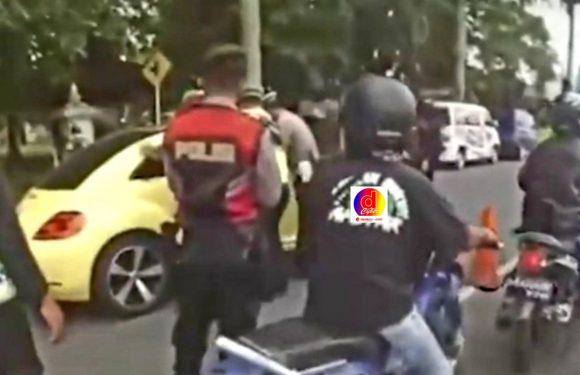 Insiden Di Pos Penyekatan Prambanan, ABG Kabur Tabrak Petugas