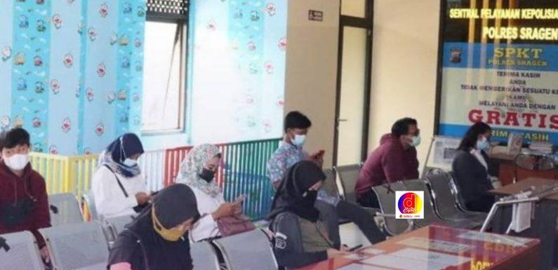 Polres Sragen Tingkatkan Fasilitas Pelayanan Publik Untuk Mewujudkan Program Kapolri Yang Presisi