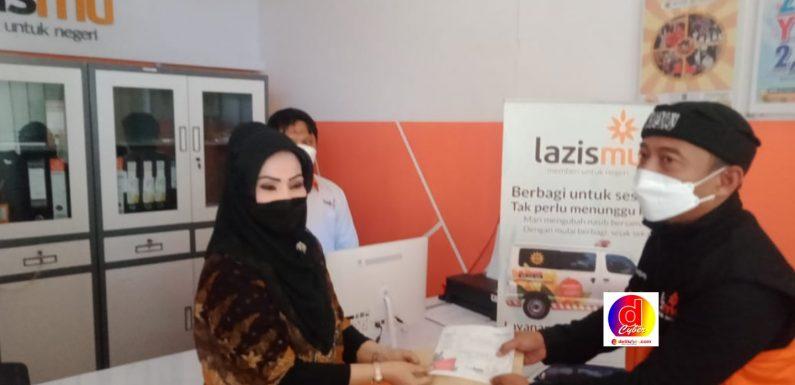 Rina Iriani Mantan Bupati Karanganyar Bantu Palestina 25 juta Lewat LAZISMU