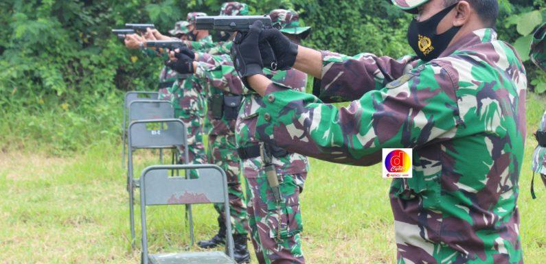 Asah Kemampuan Personil, Kodim 0728/Wonogiri Gelar Latihan Menembak
