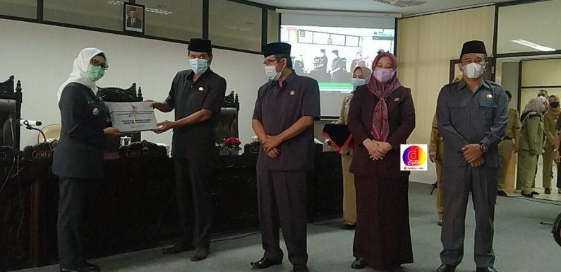 Bupati Blitar Sampaikan RAPERDA tentang Pertanggungjawaban Pelaksanaan APBD Tahun Anggaran 2020