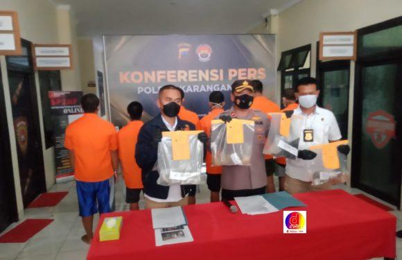 Polres Karanganyar Telah Mengamankan 6 Pelaku Kekerasan dan Pengrusakan