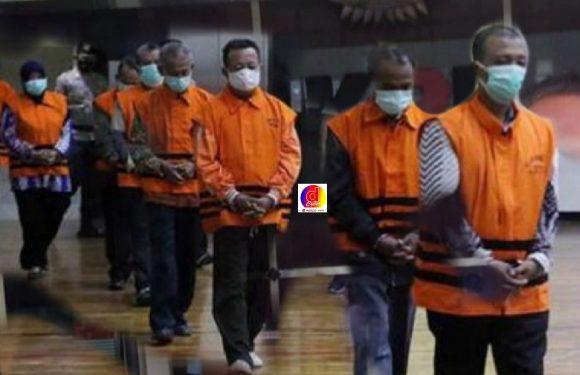 Barisan 17 Tersangka Terduga Penyuap Bupati Probolinggo Ditahan Terpisah