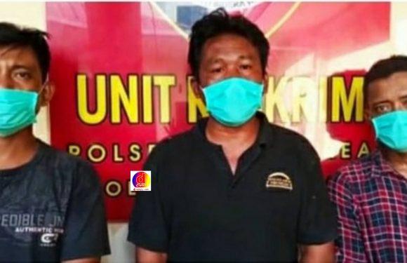 Usai Memeras Warga Jalan Selar, Tiga Abang Jago Ditangkap Polisi