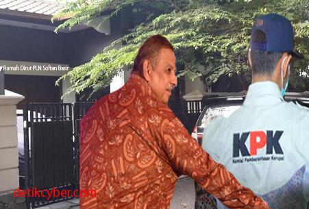 KPK Obok-Obok Rumah Dirut PLN Sofyan Basir