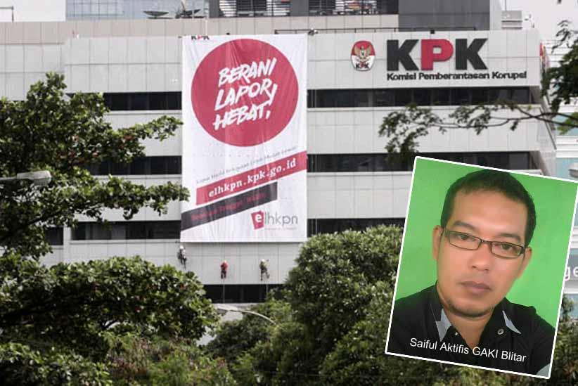 GAKI : KPK Jangan Tebang Pilih