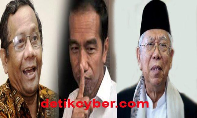 Jokowi Resmi Pilih Ma'ruf Amin sebagai Cawapres, Mahfud Tak Kecewa