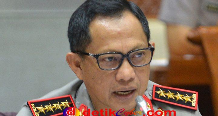 Kapolri Klaim Penembak Polisi Motifnya Balas Dendam