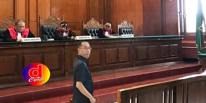 Bos Pasar Turi Dituntut 4 Tahun Penjara, Lakukan Pledoi