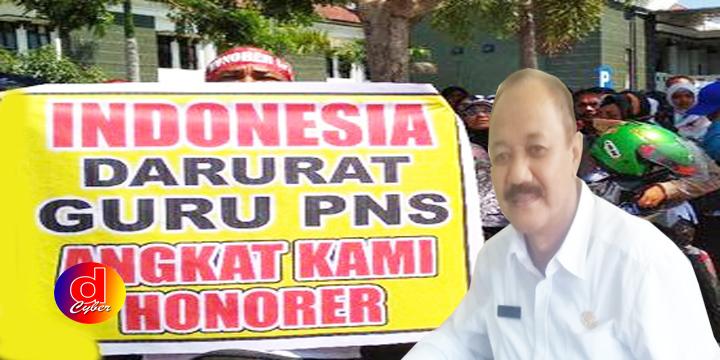 Demo Akbar Guru Honorer Di DPRD, Kepala Disdik Berharap PP Segera Diterbitkan