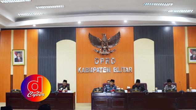 Hasil Rapat Paripurna DPRD Kabupaten Blitar Tetapkan 2 Perda