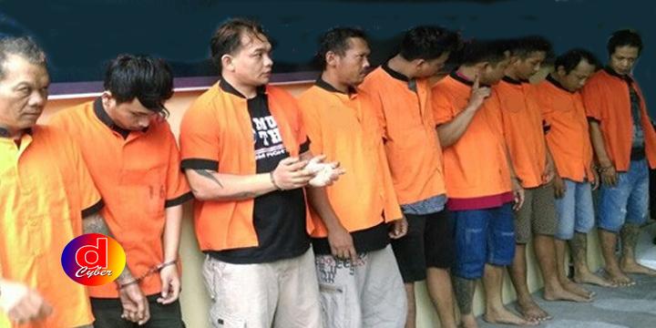 Sembilan Tersangka Narkoba Dibekuk Polres Surakarta