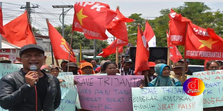 Demo KRPK :Mendesak Polisi Segera Usut Aktor Intelektual Kasus Surat Palsu KPK