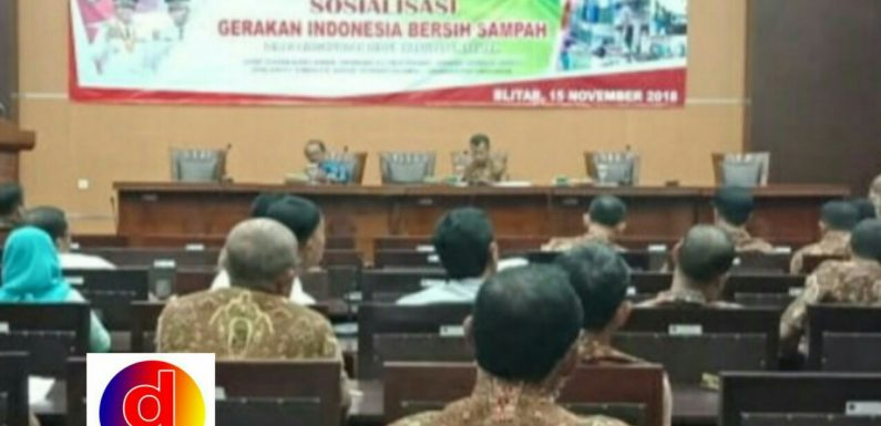 DLH Kabupaten Blitar Gelar Sosialisasi Bersih Sampah