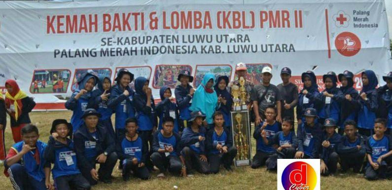 SMPN 1 Tanalili Juara Umum KBL PMR Se Luwu Utara