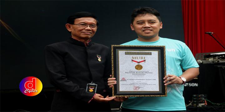 Semen Indonesia Trail Run 2018, Raih Rekor MURI Sebagai Lomba Lari Trail Pertama di Kawasan Pabrik dan di Area Pasca Tambang Pabrik Semen