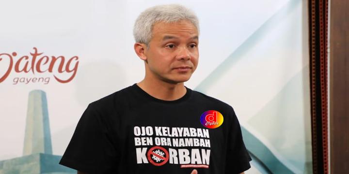 Gubernur Jateng  Ganjar Pranowo : Tetapkan Tanggap Darurat Corona