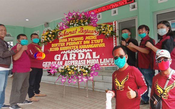 Relawan GARDAL Peduli Cegah Covid-19 Bagikan Masker dan Sanitiser