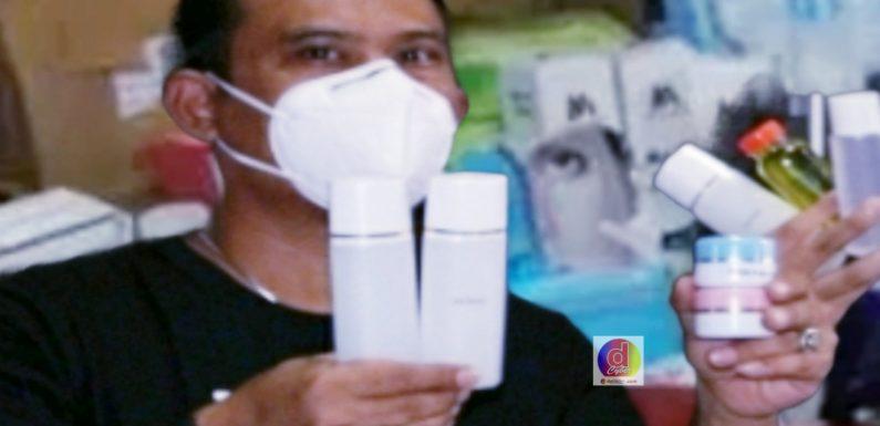 Jual Kosmetik Tanpa Ijin Edar Diamankan Polisi