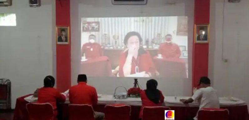 Megawati Tampil Segar Bugar, Kader PDIP Kabupaten Kota Lega dan Bersemangat Ditengah Terpaan Isu Hoak Sakit